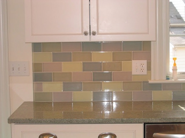 Cameron Tile backsplash